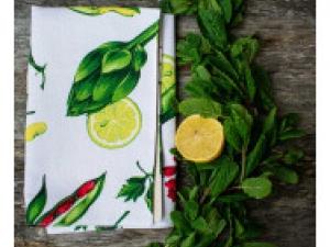 "Салфетка для зелени ""Лайм"", 48 см х 48 см"