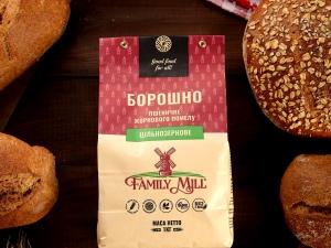 Мука пшеничная цельнозерновая, жернового помола, 1 кг