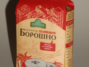 """""""Зелений Млин"""" Мука спельтовая цельно-зерновая 1 кг"""