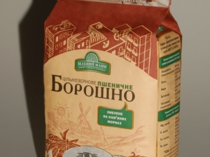 """""""Зелений Млин"""" Мука пшеничная цельно-зерновая 1 кг"""