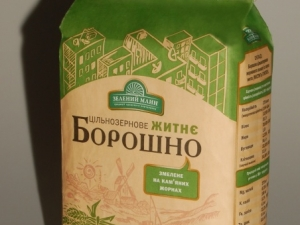 """""""Зелений Млин"""" Мука ржаная цельно-зерновая 1 кг"""