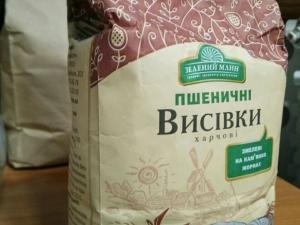 Отруби пшеничные пищевые, 0,4 кг