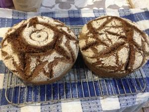 Хлеб ржаной цельно-зерновой 1000 гр
