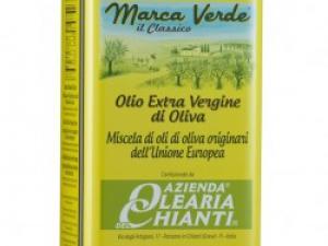 """Оливковое масло экстра вирджин """"Marca Verde"""" от Olearia del Chianti 5 л"""