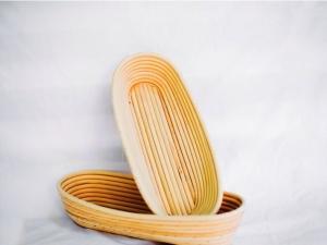 Корзина для расстойки теста из ротанга овальная 1,0 кг