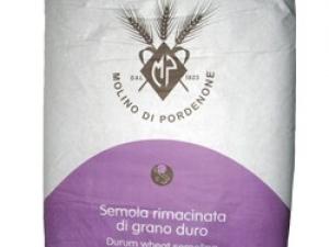Мука из твердых сортов пшеницы Semola Rimacinata di grano duro, 1 кг