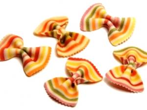 Паста для вторых блюд разноцветные бабочки, 500г